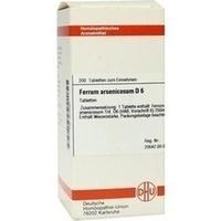 FERRUM ARSENICOSUM D 6 Tabletten