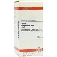 FERRUM PHOSPHORICUM D 30 Tabletten