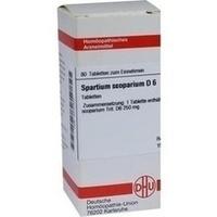 SPARTIUM SCOPARIUM D 6 Tabletten