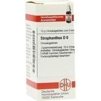 STROPHANTHUS D 6 Globuli