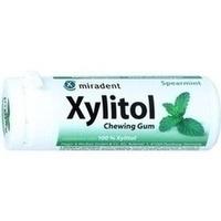MIRADENT Zahnpflegekaugummi Xylitol Spearmint