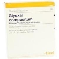 Glyoxal Comp Ampullen