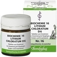 Biochemie 16 Lithium Chloratum D6 Tabletten
