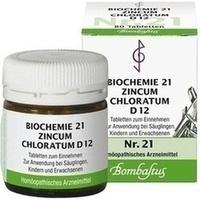 Biochemie 21 Zincum Chloratum D12 Tabletten