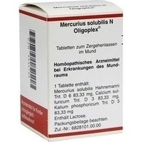 MERCURIUS SOLUBILIS N Oligoplex Tabletten