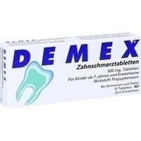 DEMEX Zahnschmerztabletten**
