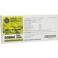 CEFABENE Cistus Komplex Injektionslösung