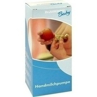 MILCHPUMPE Hand Gummiball mit Glas