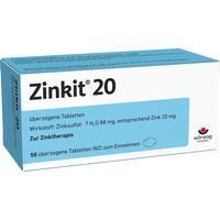 ZINKIT 20 überzogene Tabletten