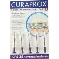 CURAPROX Interd.Buersten str.+impl.CPS 28 viol.