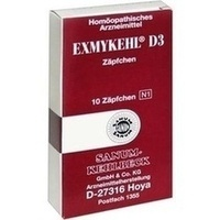 EXMYKEHL D 3 Suppositorien
