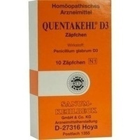 QUENTAKEHL D 3 Suppositorien