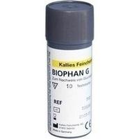 BIOPHAN G Teststreifen