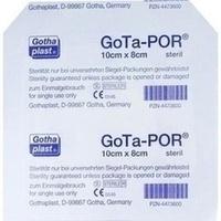 GOTA-POR Wundpflaster steril 80x100 mm