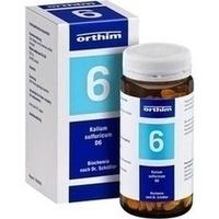 Biochemie Orthim Nr.6 Kalium Sulfuricum D6 Tabletten