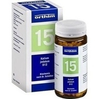 Biochemie Orthim Nr.15 Kalium Jodatum D12 Tabletten