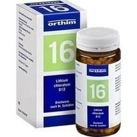Biochemie Orthim Nr.16 Lithium Chloratum D12 Tabletten