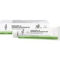 Biochemie 10 Natrium Sulfuricum D6 Creme