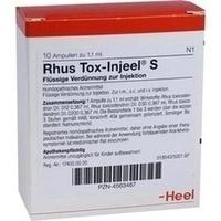 RHUS TOX Injeel S Ampullen