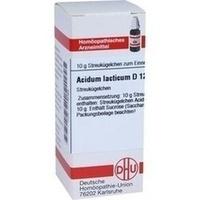 ACIDUM LACTICUM D 12 Globuli