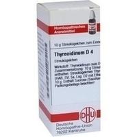 THYREOIDINUM D 4 Globuli