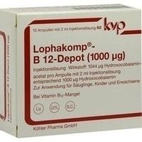 LOPHAKOMP B 12 Depot 1000 μg Injektionslösung