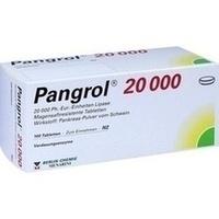 PANGROL 20.000 magensaftresistente Tabletten