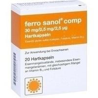 FERRO SANOL comp. Hartkaps.m.msr.überz.Pellets