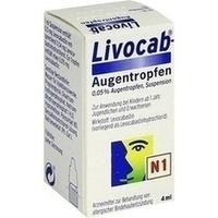 LIVOCAB Augentropfen