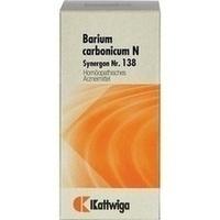 SYNERGON KOMPLEX 138 Barium carbonicum N Tabletten