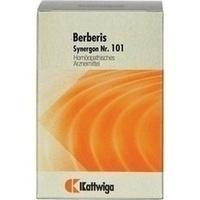SYNERGON KOMPLEX 101 Berberis Tabletten