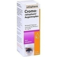 CROMO-RATIOPHARM Augentropfen