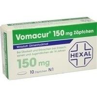 VOMACUR 150 mg Zäpfchen**