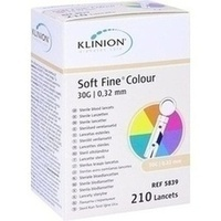 KLINION Soft fine colour Lanzetten 30 G