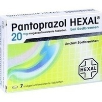 PANTOPRAZOL HEXAL b.Sodbrennen magensaftres.Tabl.