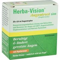 HERBA-VISION Augentrost sine Augentropfen