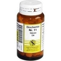 BIOCHEMIE 11 Silicea D 6 Tabletten**