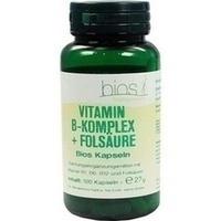 Vitamin B Komplex+folsäure Bios Kapseln   100 Stück