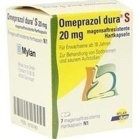 OMEPRAZOL dura S 20 mg magensaftresist.Hartkapseln