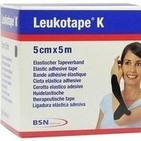 LEUKOTAPE K 5 cm schwarz