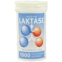 LAKTASE 1.500 FCC Enzym Kapseln