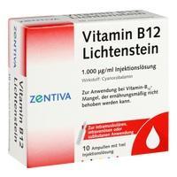 VITAMIN B12 1.000 μg Lichtenstein Ampullen