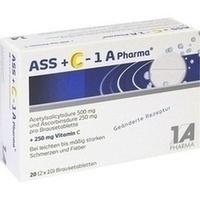 ASS + C-1A Pharma Brausetabletten