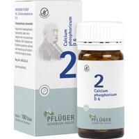Biochemie Pflüger Nr. 2 Calcium Phosphoricum D6 Tabletten