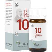 Biochemie Pflüger Nr. 10 Natrium Sulfuricum D6 Tabletten