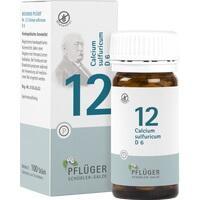 Biochemie Pflüger Nr. 12 Calcium Sulfuricum D6 Tabletten