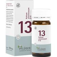 Biochemie Pflüger Nr. 13 Kalium Arsenicosum D6 Tabletten