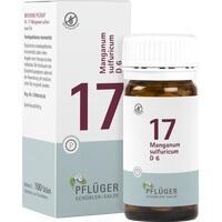 Biochemie Pflüger Nr. 17 Manganum Sulfuricum D6 Tabletten