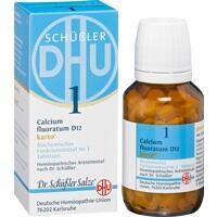 Biochemie Dhu 1 Calcium Fluoratum D12 Karto Tabletten