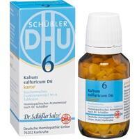 Biochemie Dhu 6 Kalium Sulfuricum D6 Karto Tabletten